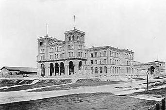 Görlitzer Bahnhof in 1870