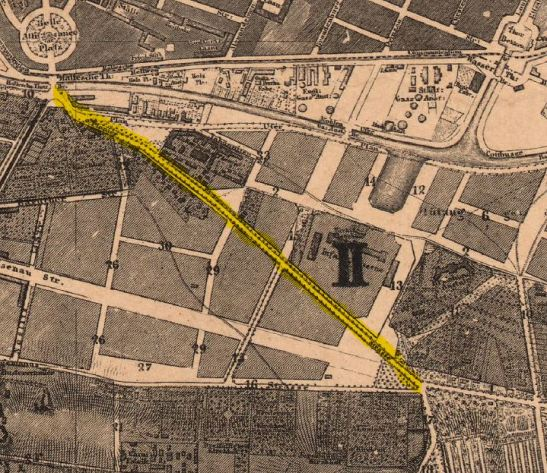 Berlin´s Urban Planning map of 1862 (Hobrecht Plan)
