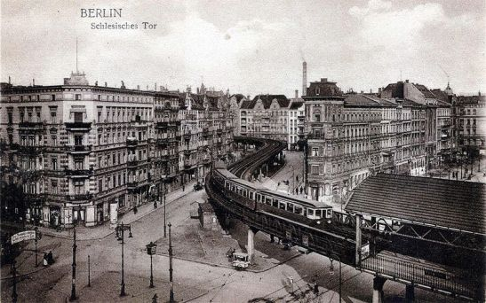Station Schlesisches Tor in 1901/1902