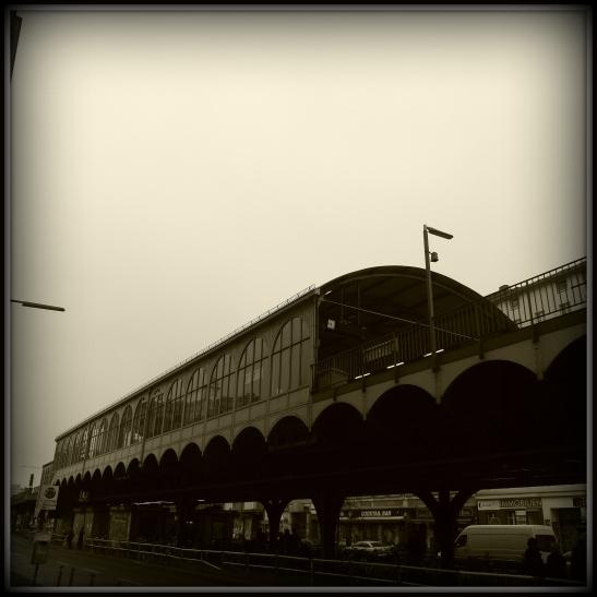 Görlitzer Bahnhof (originally called Oranienstrasse, designed by and built 1898-1901 by Siemens&Halske)