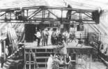 "Atelier Blücherstrasse, 1916 during the filming of ""Das Todestelefon""(Death Phone)"