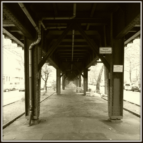 Under the viaduct in Skalitzer Strasse (between Schlesisches Tor and Görlitzer Bahnhof)