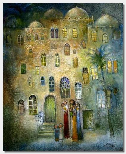 Das Schützende Haus (The Protecting House) by Ibrahim Hazimeh