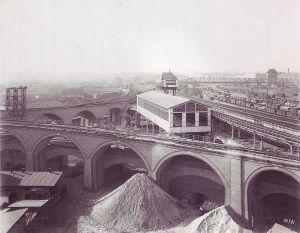 The original Gleisreieck in 1901