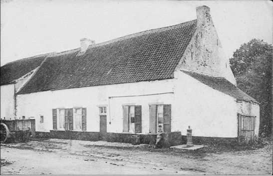 The Belle Alliance Inn around 1880