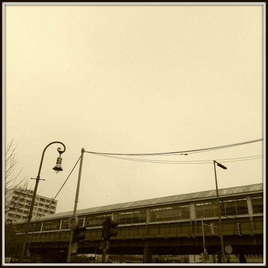 The second Kottbusser Tor station opened in 1929 was designed by Alfred Grenander