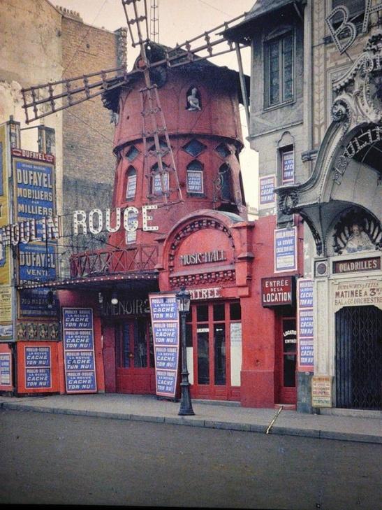 Paris-in-Colour-moulin rouge 1914