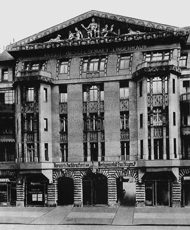 Vorwärts building in Lindenstrasse 3