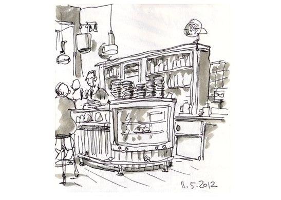 Fuchsbau Bar in Planufer by Detlef Surrey