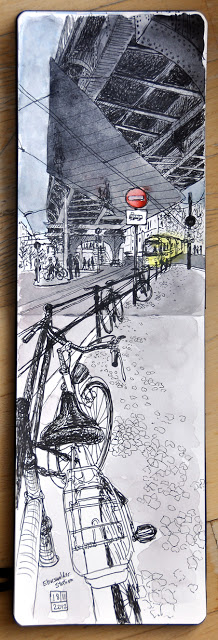 U2 Eberswaldestrasse Station by Sigrid Albert