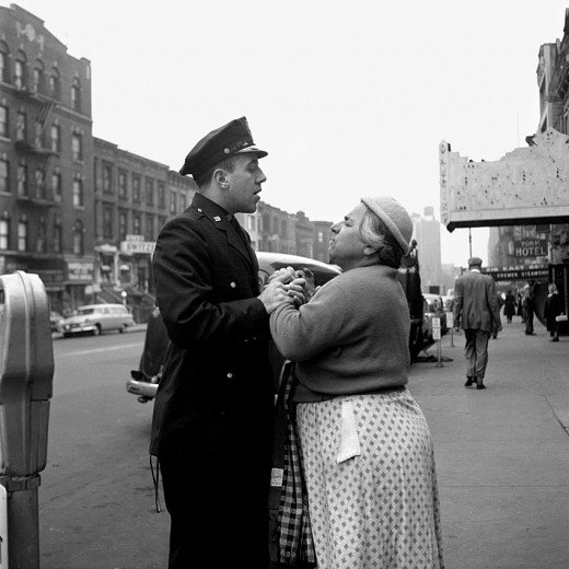 vivian maier a cop and an italian probably woman