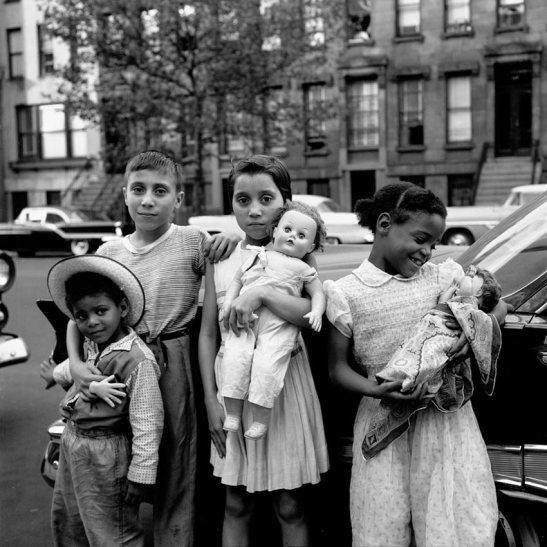 vivian maier black children in the street