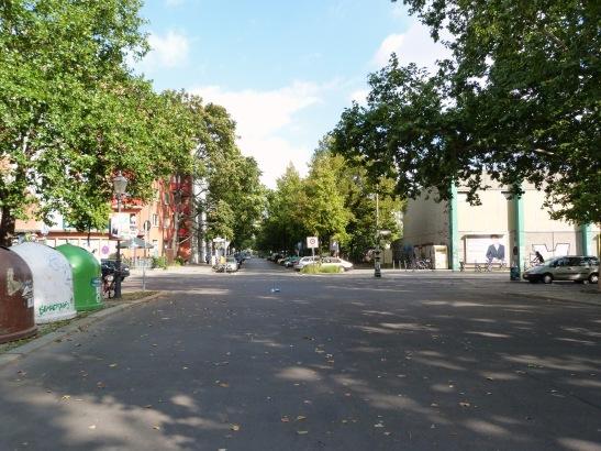 Schleiermacherstrasse some 112 years later