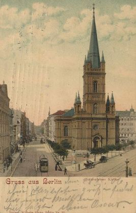 Jerusalemkirche in 1906