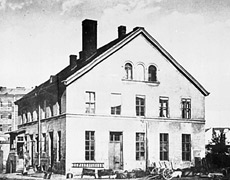 Beamtenhaus in Gitschiner Strasse 48 in 1865 (photo: bildindex.de)