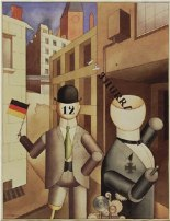 Republican Automatons (Republikanische Automaten) by George Grosz, 1920 (image: MOMA New York)
