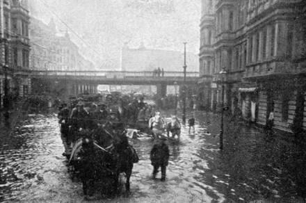 Yorckstrasse on April 14th, 1902