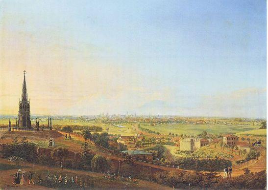 6 Johann Heinrich Hintze_Kreuzberg_1829