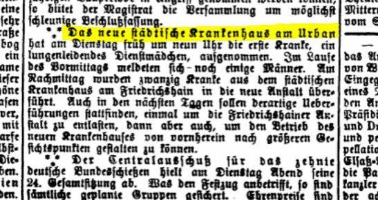 BERLINER GERICHTS-ZEITUNG 6. JUNI 1890