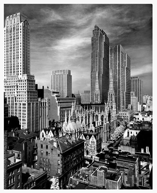 NYC in 1939 by AE