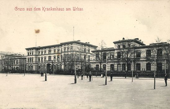 Krankenhaus Am Urban around 1898