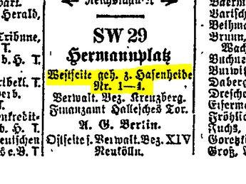 Berlin Directory 1938