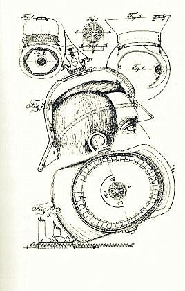 "Original drawings of Gustav Niemann´s invention (Deutsches Patentamt through Maria Curter´s excellent book ""Das Erfinderische Berlin"""