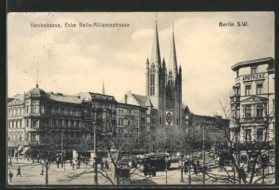 Yorckstraße, Ecke Belle-Alliancestraße