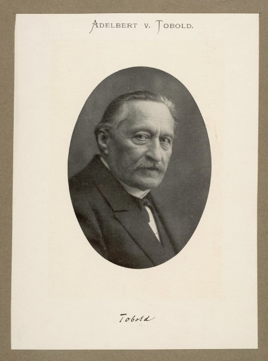 Adelbert von Tobold (photo: National Library of Denmark and Kopenhagen University)