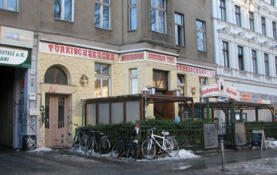 Restaurant Mercan in Wiener Strasse 10 today (photo: Kappa-Photo)