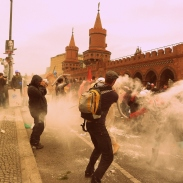 Easy, it´s not tear gas. Not this time, at least:)