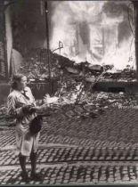 After a raid - Berlin, 1943.