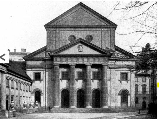 "The orthodox synagogue in Kottbusser Ufer 48-50 (later re-named after a Nazi ""hero"" Thielschufer, today Fraenkelufer): the main building set on fire and burnt down on the night of 9/10th of November 1938, only the smaller ""Jugendsynagoge"" remained and is used today as a temple again."