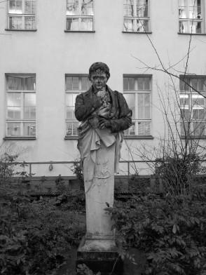 German poet and writer Heinrich von Kleist immortalised in 1898 by Karl Pracht.