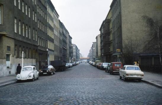Manteuffelstrasse in Kreuzberg 36 in March 1973 (photo: imago)
