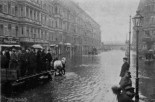 Yorckstrasse during the flood of 1902.