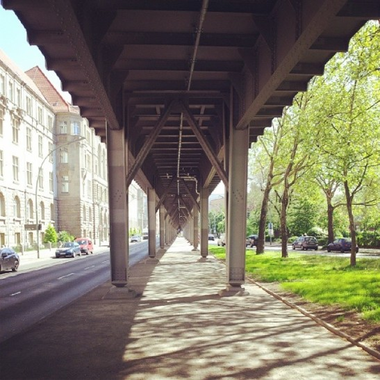 U1 in Gitschiner Strasse (photo: notmsparker)