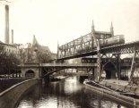 Gleisdreieck seen from Möckernbrücke (Max Missmann, 1905)