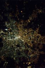 east west berlin lights