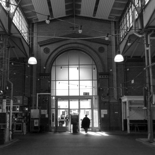Inside the Markthalle IX between Eisenbahnstrasse and Pücklerstrasse today (photo: notmsparker)
