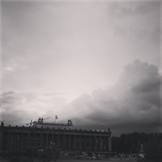 Altes Museum at the Lustgarten, Berlin-Mitte (image: notmsparker)