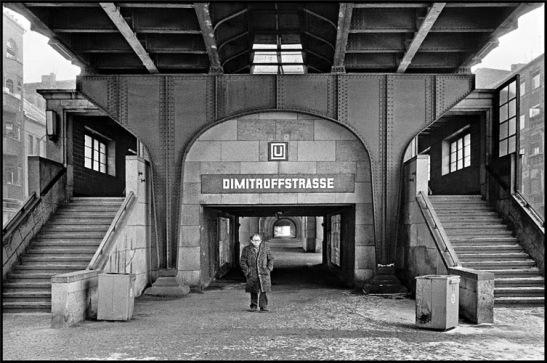 U-Bahnhof U2 Dimitroffstrasse (today Eberswalderstrasse)