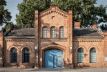 Plötzensee Prison gate (image through bau-berlin.info)