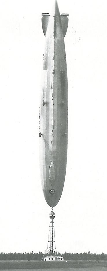 zeppelin lz 126 vertically 1927