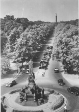 Kemperplatz in Tiergarten in the 1930s or early 1940s.