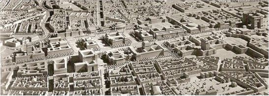 The model of the future World Capital of Germania.