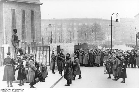 Horst-Wessel-Platz, January 1937