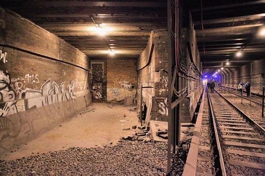 Inside the Dresdener Strasse tunnel (image by Thomas Krickstadt)