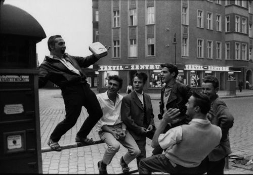 Teds (Teddie Boys) of East Berlin, 1960