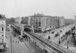U-Bahnhof Oranienstrasse (today Görlitzer Bahnhof) in 1902